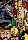 Pixie from the cover of Avengers vol.3 #2.