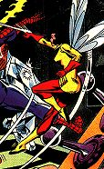 Wasp from the cover of Marvel Team-Up #60
